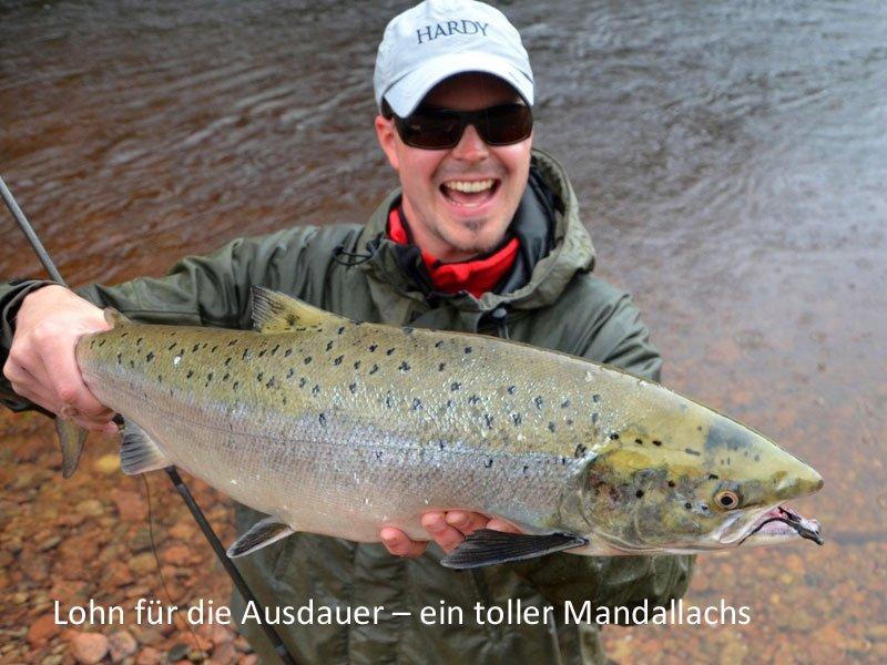 Lachsfischen in Norwegen und Schweden