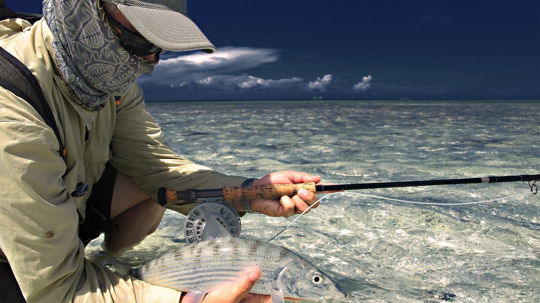 Fliegenfischen Los Roques Venezuela