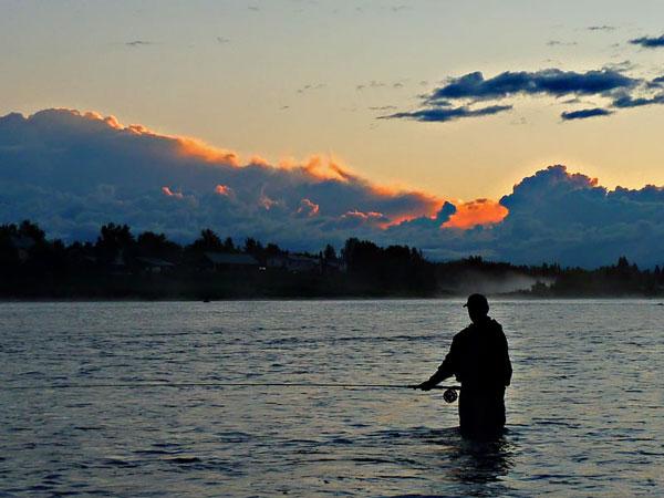 Im Land der Mitternachtssonne: Lachsfischen in Schwedisch-Lappland